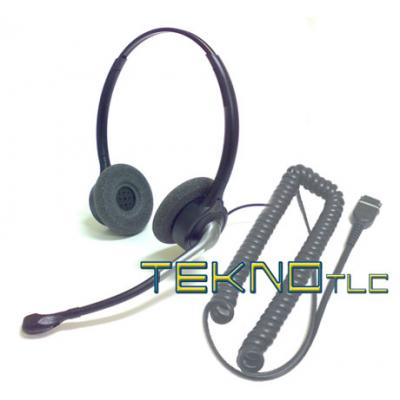 Biaural headset for Maxwell IP phone